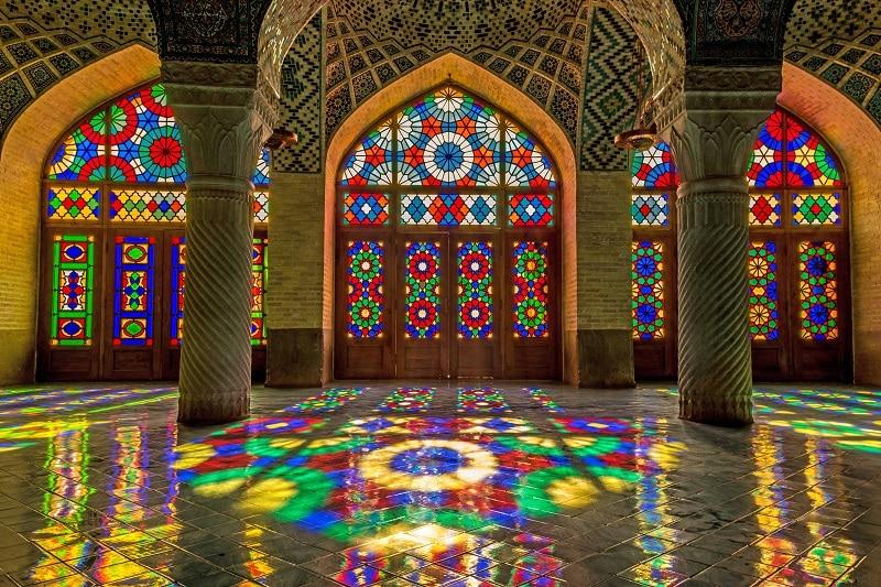 شبستان مسجد نصیرالملک